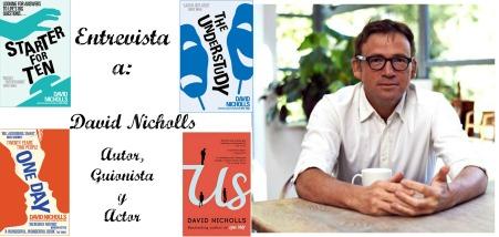 David Nicholls entrevista